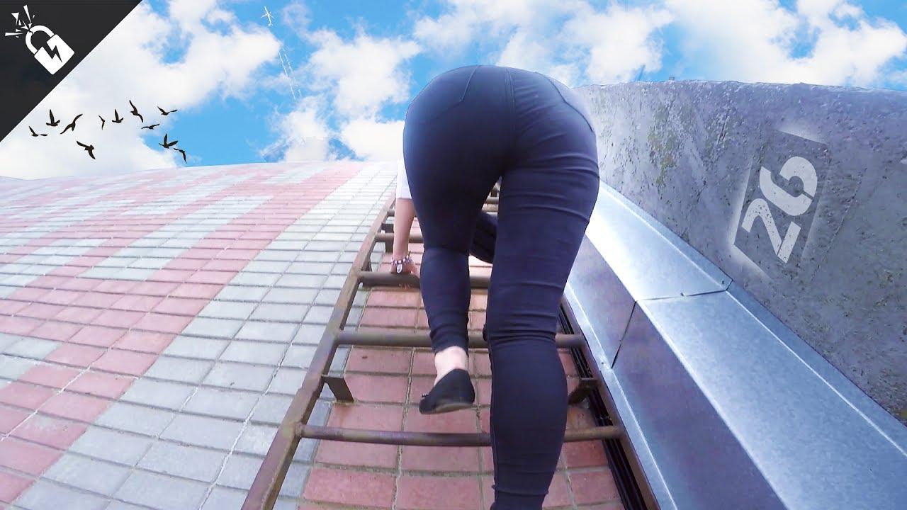 Видео нежный секс на крыше — photo 13