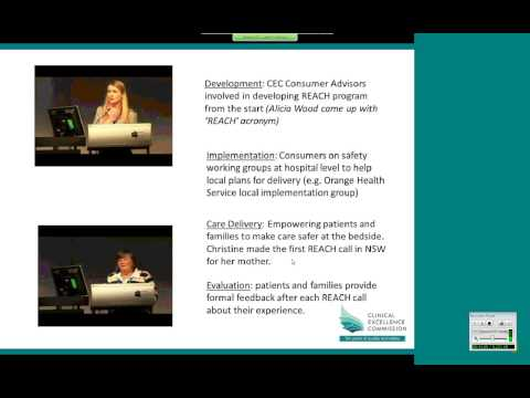 CEC - Consumer Engagement in Safety & Quality Webinar (2014)