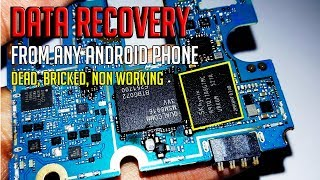 Data Recovery From Android Phones - Non Working Even Dead Cellphone