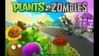 Plants vs Zombies.  Бесконечный вазобой.  Серия 1-10.  Прохождение от SAFa