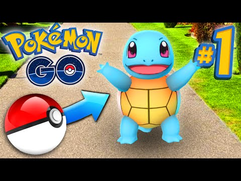 Pokemon GO Episode #1 - CATCHING POKEMON!