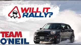 Will It Rally?: Mini Cooper S Paceman All4