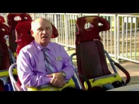 Top Thrill Dragster - Testing ᴴᴰ