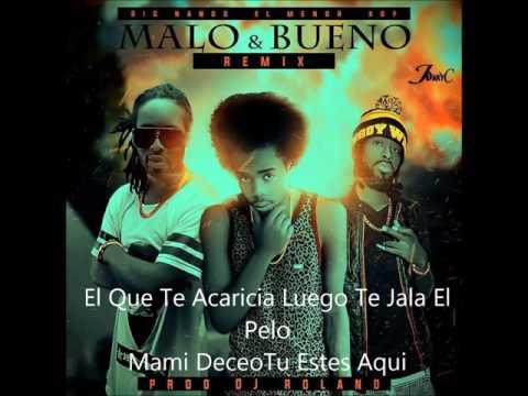 El Menor Menor - Malo Y Bueno Remix (Video Letra) Ft Big Nango & KBP