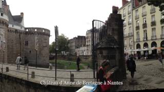 Château de Rochefort-en-Terre, château d'Anne de Bretagne à Nantes, Quimper