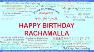 Rachamalla   Languages Idiomas - Happy Birthday