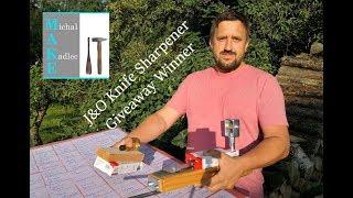 J&O knife sharpener giveaway WINNER