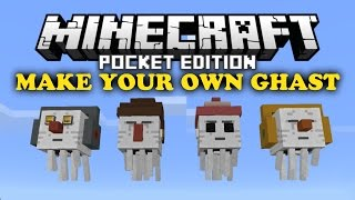 ✔ Make Your Own Ghast - Minecraft PE