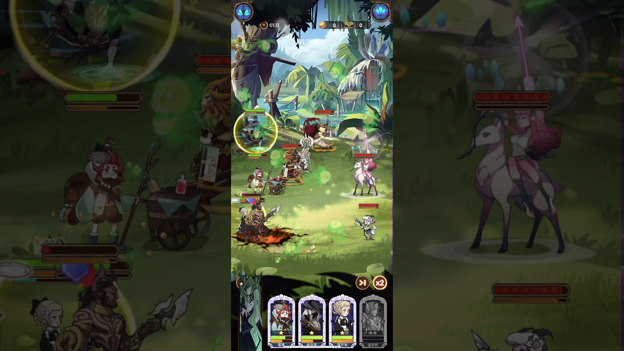 AFK Arena 劍與遠征 stage 27-2 gameplay - YouTube
