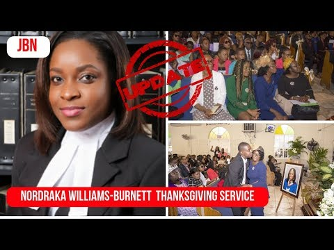 Celebrating The Life Of Attorney Nordraka Williams-Burnett/JBN