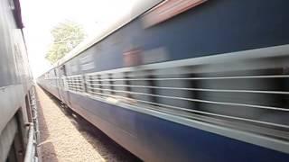 Ahmedabad - Howrah Express meets Lalmati Express at Jhargram...