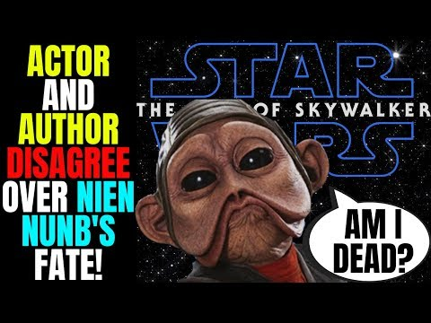 nien-nunb-actor-claims-he's-not-dead!-|-the-rise-of-skywalker-author-says-different!