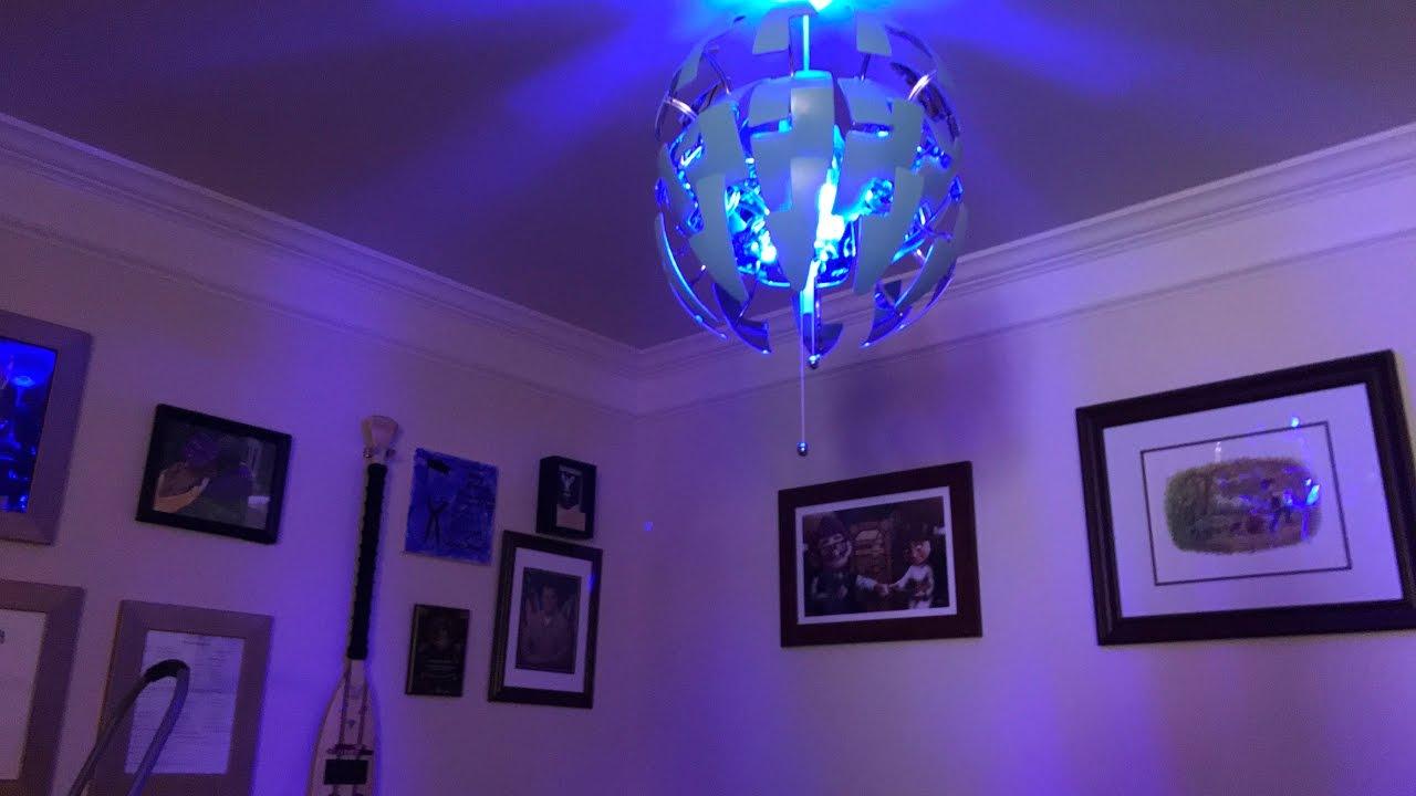 the ikea ps 2014 aka the death star lamp - youtube