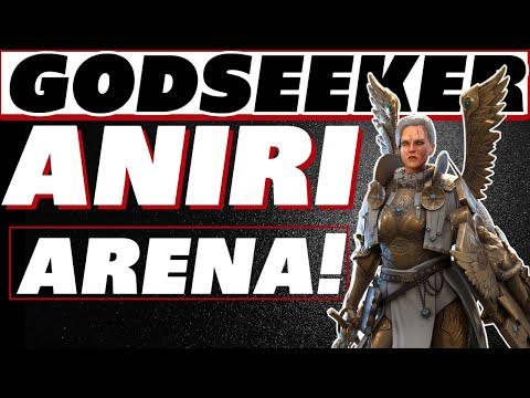 Godseeker Aniri Arena testing & build Raid Shadow Legends Aniri guide