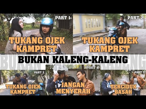 Kompilasi #TukangOjek Part 1-5 | Maellee
