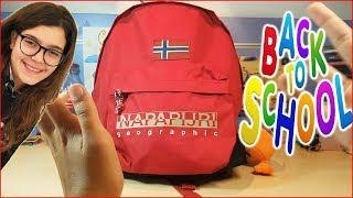 BACK TO SCHOOL: Cosa c'è nel mio Zaino NAPAPIJRI (by Giulia Guerra)