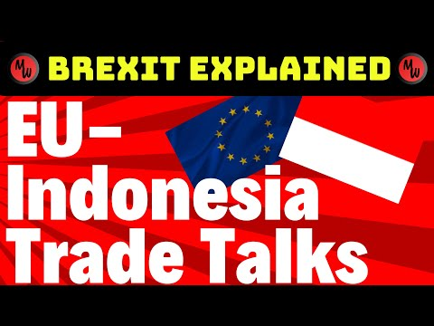 EU and Indonesia Bilateral Trade Talks - Brexit explained