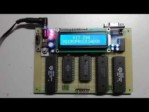 Microcomputadora de 8 bits basada en un Z80