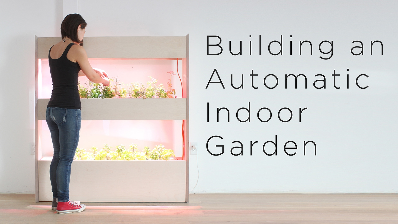 Setting Up An Automatic Indoor Garden Customizing A