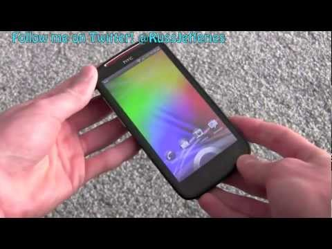 HTC Sensation XE Android smartphone video review