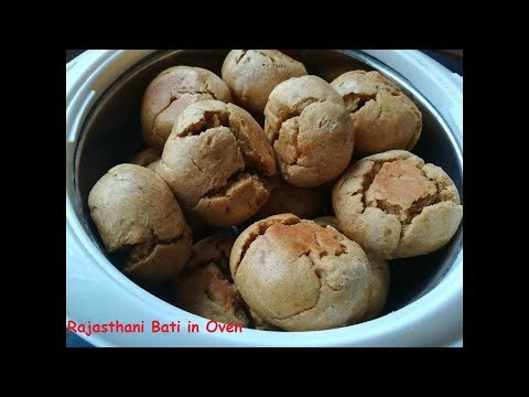 How To Make Rajasthani Bati In Microwave Oven In Hindi