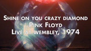 Shine on you crazy diamondlive at wembley, 16-11-1974