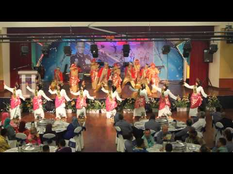 Tarian Dia Datang ( welcoming Dance ) from SUKSIS UiTM Shah Alam