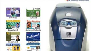 Zebra Photo ID Card Printer animation