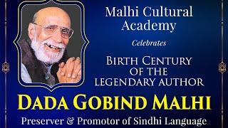 Birth Century of the Legendary Author DADA GOBIND MALHI