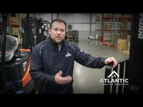 What to look for on a used forklift