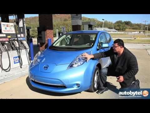 2011 Nissan LEAF Test Drive & Electric Car Review
