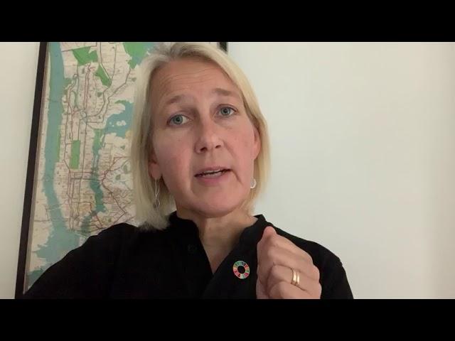 Ulrika Modeer, UNDP Assistant Administrator & Director Bureau of External Relations and Advocacy