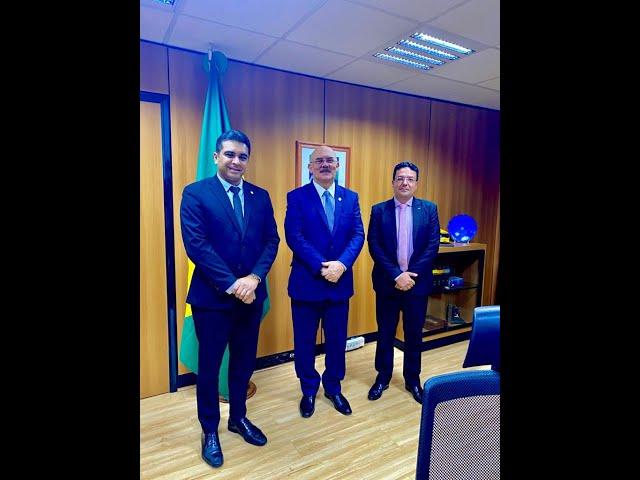 Fernando Rodolfo - Audiência com o Ministro da Educação sobre os precatórios do FUNDEF