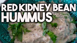 Simple To Prepare Red Kidney Bean Hummus