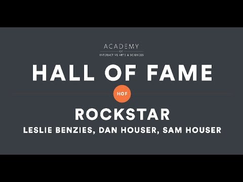 Rockstar Games' Leslie Benzies, Dan Houser and Sam Houser - AIAS 2014 Hall of Fame Tribute Video