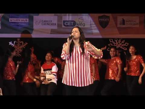 Vaishali samant @BVCOE,Navi Mumbai in Abhiyaan 2K17 || Dajiba || Gulabachi Kali