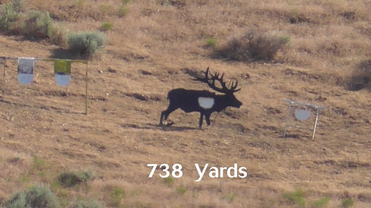 28 Nosler — 738 Elk Target at Spirit Ridge Rifle Golf