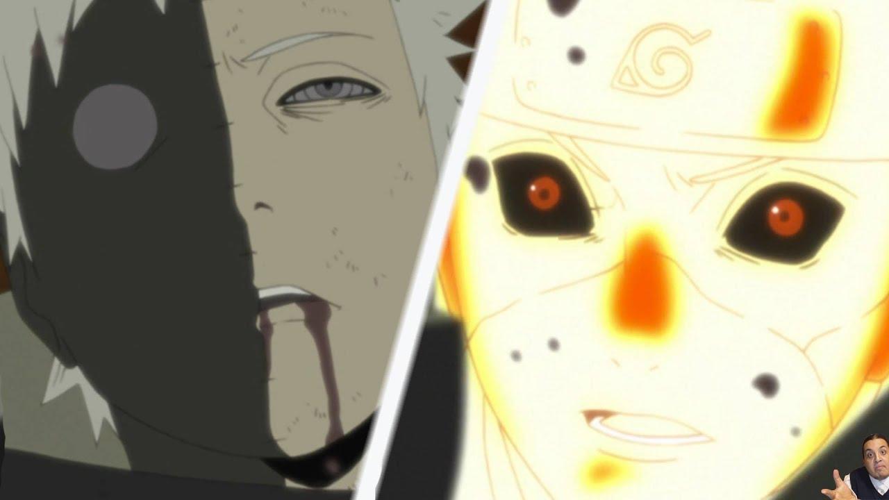 Naruto Shippuden Episode 375 -ナルト- 疾風伝 Review - Obito Becomes The Juubi  Jinchuuriki Vs Naruto/Sasuke