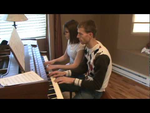 Tchaikowsky's Dance of the Sugar Plum Fairy Duet for Piano Marvel.MPG