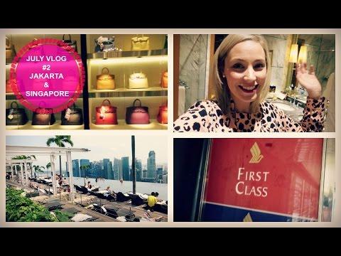 July Vlog #2: Jakarta & Singapore Vlog