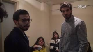 شاهد...أبطال SNL بالعربي في كواليس برنامج هنا العاصمة ورد فعل لميس الحديدي بعد تقليدها