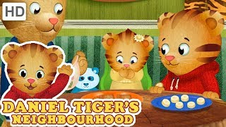 Daniel Tiger 🍪 Snack Time with my Sister | Videos for Kids