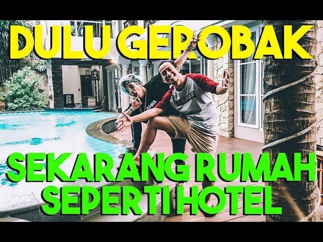 DULU NYA GEROBAK SEKARANG RUMAH SEPERTI HOTEL #AttaGrebekRumah DENNY CAGUR PART 2