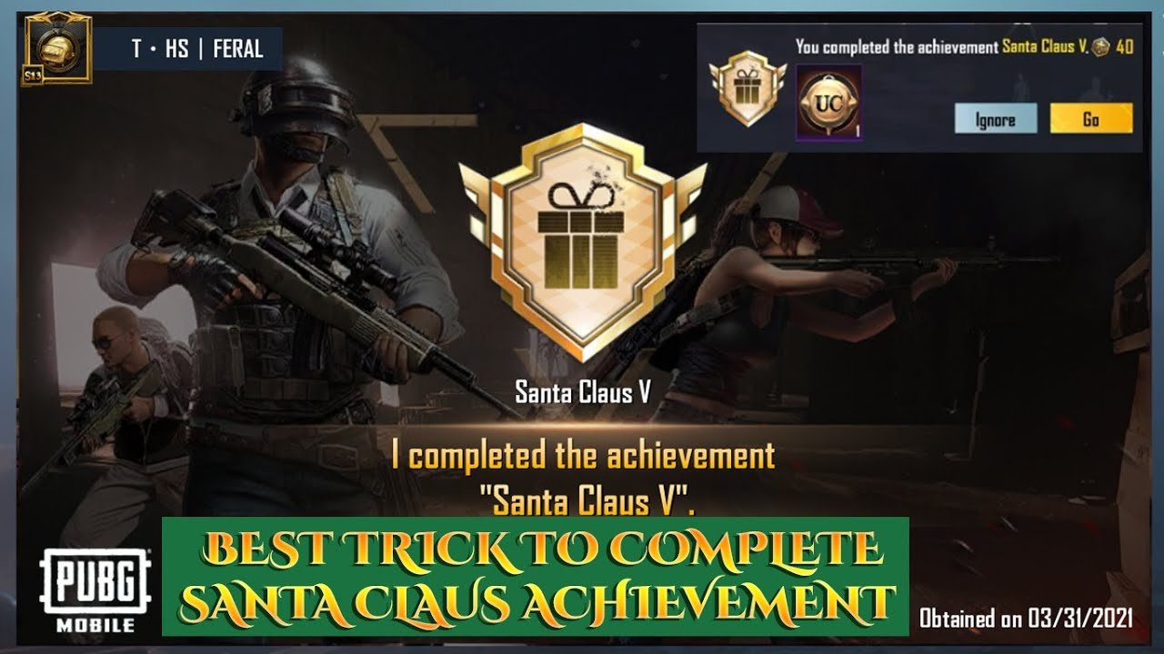 Download HOW TO COMPLETE SANTA CLAUS ACHIEVEMENT EASILY | +80 ACHIEVEMENT POINTS | GIFT AN ITEM TO FRIEND