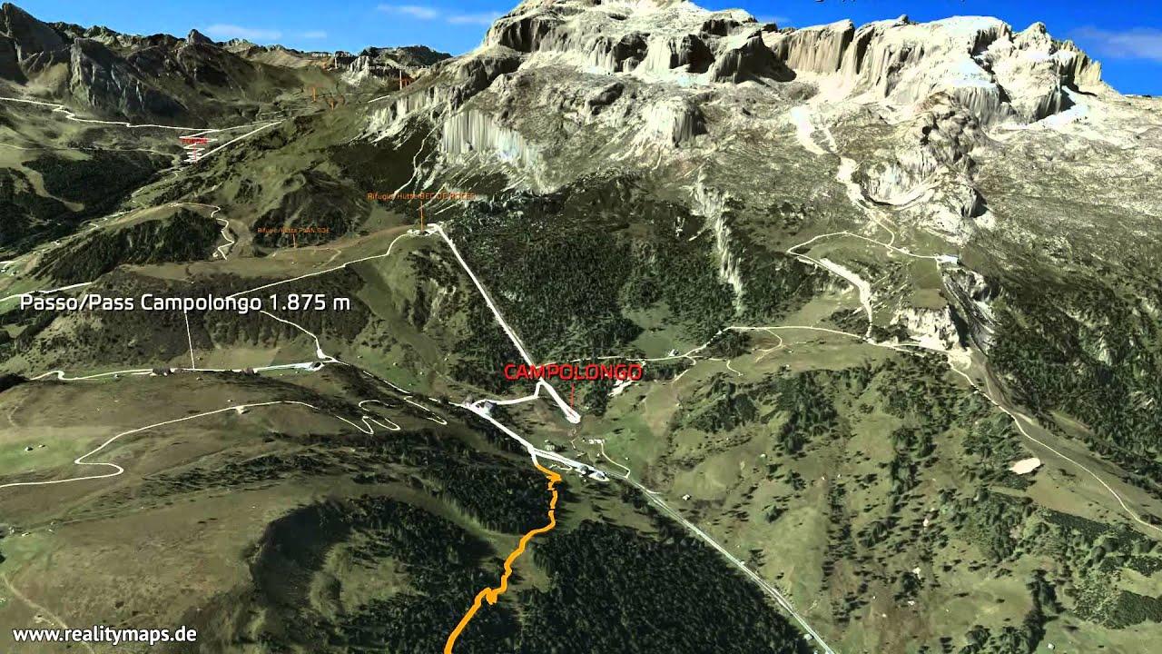 2015 3D Sellaronda MTB TOUR - senso orario/Uhrzeigersinn/clockwise