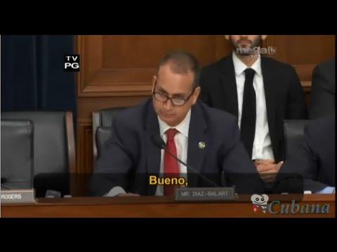 Oscar Haza - Mario Díaz-Balart cuestiona a John Kerry