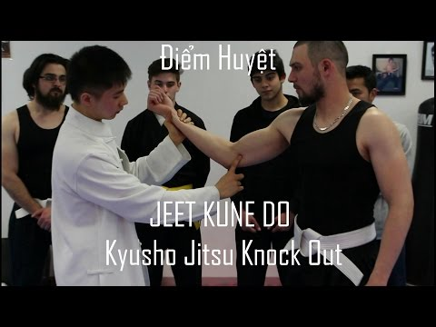 |HD| Jeet Kune Do Pressure Point Knock Out ( Kyusho Jitsu- Dim Mak)| Melbourne Ri Chu Kung Fu