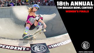 TIM BRAUCH BOWL CONTEST - WOMEN'S FINALS 2016