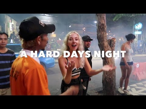A HARD DAYS NIGHT IN BALI CLUBS AND BARS