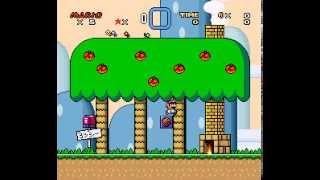 Super Mario World - Super Mario Bros 4 - Let